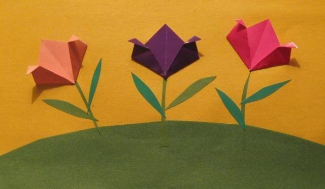 Аппликация кораблики из цветной бумаги.  23 февраля, для ребенка это.